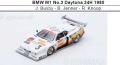 ◎予約品◎ BMW M1 No.3 Daytona 24H 1980  J. Busby - B. Jenner - R. Knoop