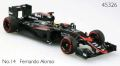 McLaren Honda MP4-30 2015 Middle Season Version  No.14 F.アロンソ