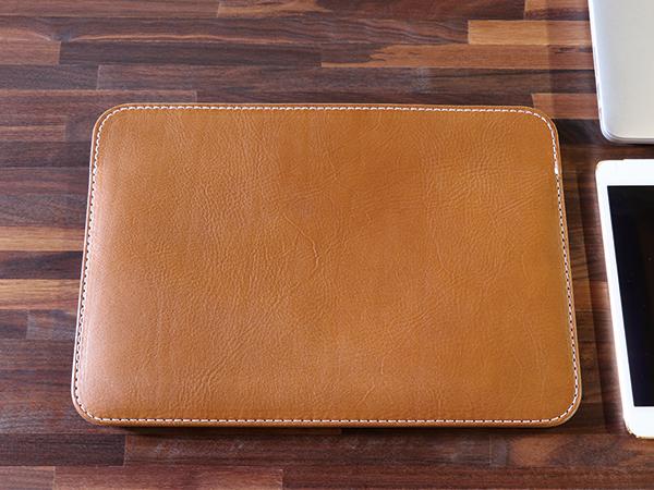 【TurnBuckle leather】【送料無料】13インチMacBook pro用ハンドメイドレザーケース