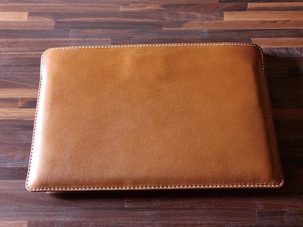 【TurnBuckle leather】【送料無料】15インチMacBook pro用ハンドメイドレザーケース