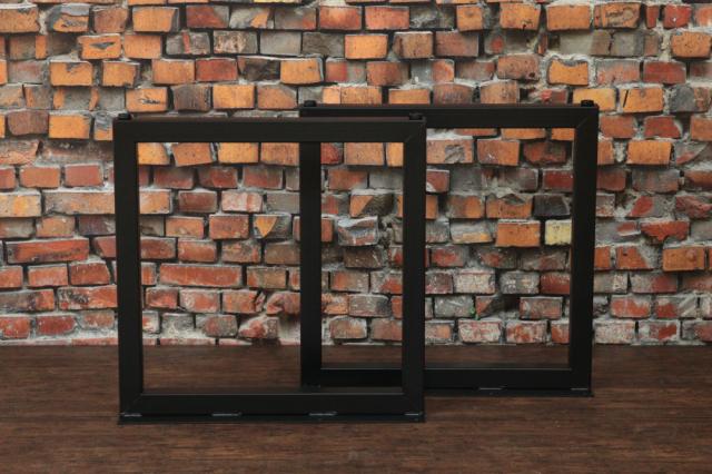 【TurnBuckle iron】【鉄脚】#50 H680mm【四角タイプ】2本組ダイニングテーブル脚 DIY用 カフェ風な雰囲気のテーブル足(DIY)