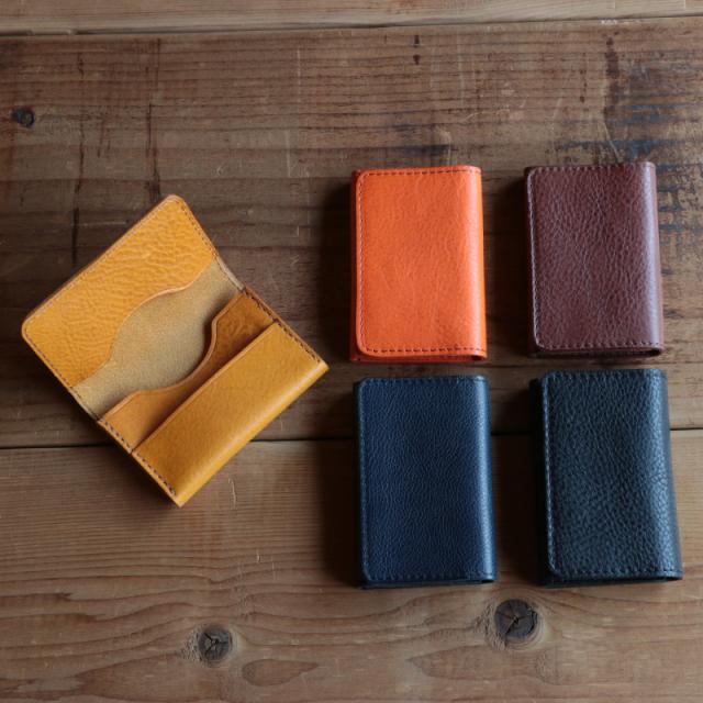 【TurnBuckle leather】本革名刺入れ レザーカードケース
