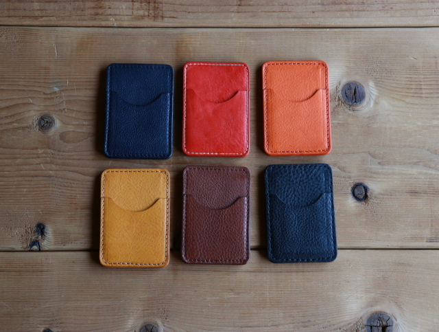 【TurnBuckle leather】【送料無料】イタリアンレザー リバーシブルカードケース