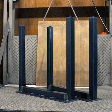 【鉄脚】#50 H680mm【コの字 U字タイプ】2本組ダイニングテーブル脚 DIY用 カフェ風な雰囲気のテーブル足(DIY)