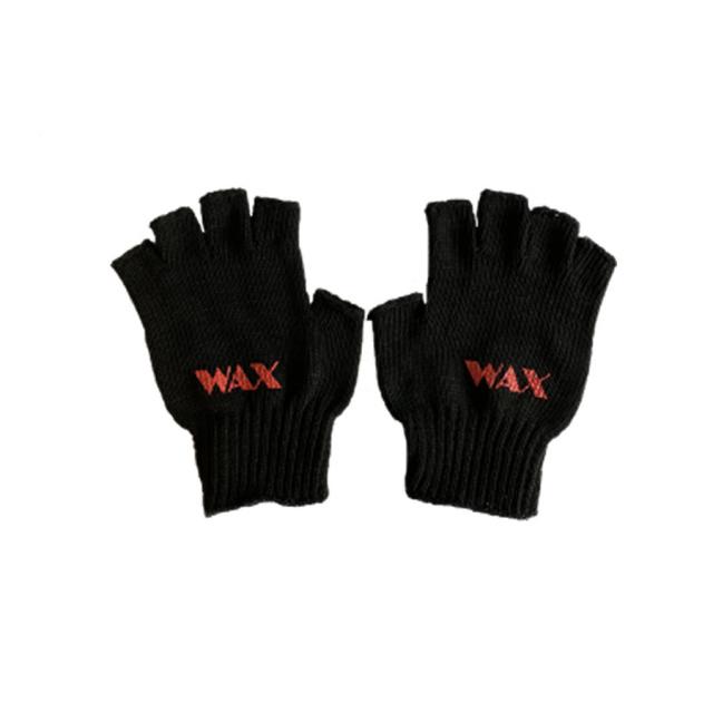 WAX(ワックス) / THE HARD MAN(ザハードマン) / 手袋 グローブ / FINGERLESS GLOVE - BLACK / WX-0126 / メンズ