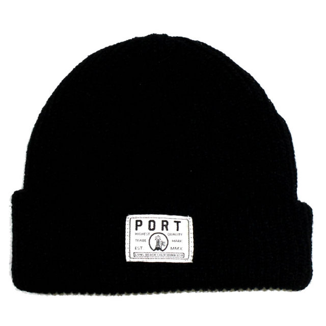 PORT LONG BEACH (ポート ロングビーチ) ビーニー ニットキャップ ニット帽 / Watchman