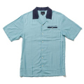 QUIETLIFE(クワイエットライフ),半袖ボタンダウンシャツ