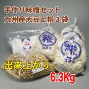 手作り味噌セット フクユタカ