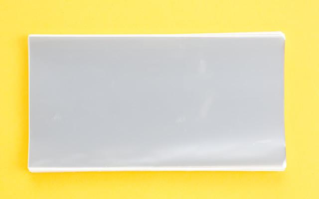 OPP袋 サイドシールタイプ フィルムの厚み30μ 120×230ミリ 100枚入り