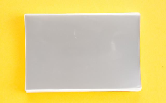 OPP袋 サイドシールタイプ フィルムの厚み30μ 80×120ミリ 100枚入り