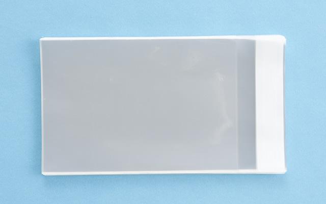 OPP袋 テープ付タイプ フィルムの厚み30μ 110×160ミリ 100枚入り