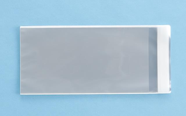 OPP袋 テープ付タイプ フィルムの厚み30μ 120×230ミリ 100枚入り