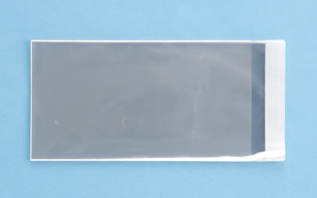 OPP袋 テープ付タイプ フィルムの厚み30μ 140×260ミリ 100枚入り