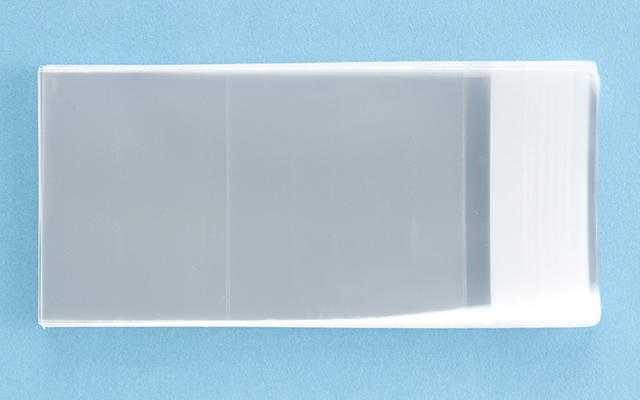 OPP袋 テープ付タイプ フィルムの厚み30μ 60×100ミリ 100枚入り