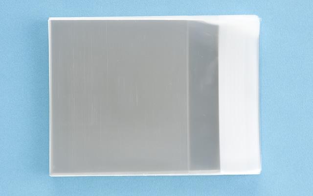 OPP袋 テープ付タイプ フィルムの厚み30μ 90×80ミリ 100枚入り