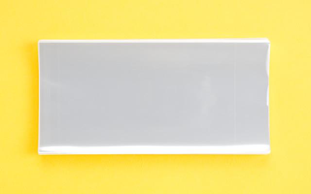 OPP袋 サイドシールタイプ フィルムの厚み30μ 110×170ミリ 100枚入り