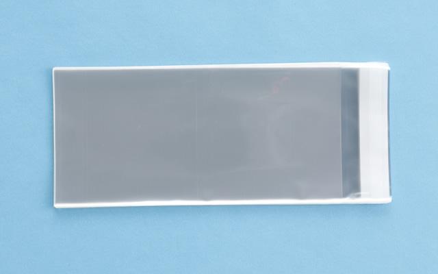 OPP袋 テープ付タイプ フィルムの厚み30μ 110×230ミリ 100枚入り