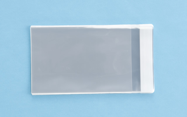 OPP袋 テープ付タイプ フィルムの厚み30μ 120×180ミリ 100枚入り