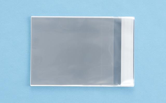 OPP袋 テープ付タイプ フィルムの厚み30μ 130×155ミリ 100枚入り