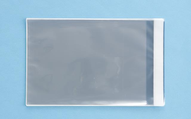 OPP袋 テープ付タイプ フィルムの厚み30μ 195×270ミリ 100枚入り (定形サイズ B5用)