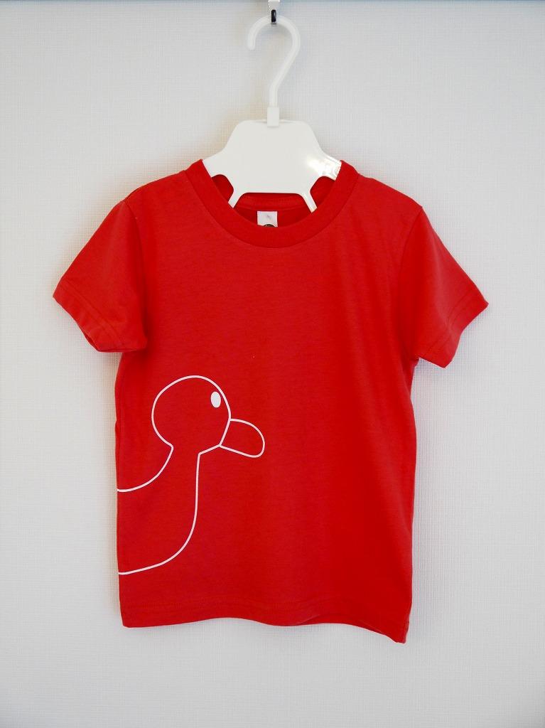 <オーガニックコットン100%>Tシャツ(クランベリーduck)/マニー&サイモン
