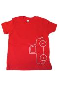 <コットン100%>Tシャツ(レッドtruck)/マニー&サイモン