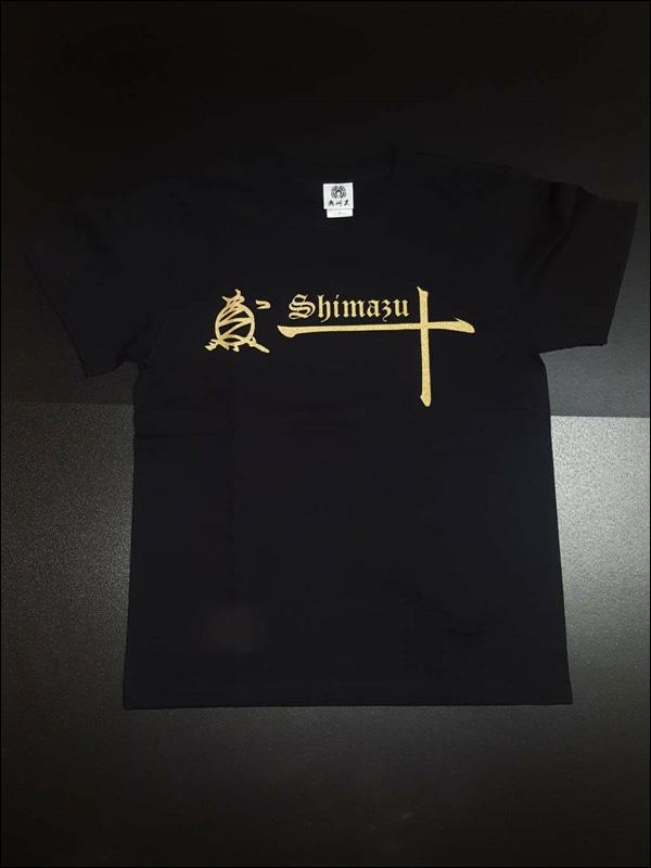 戦国武将Tシャツ【島津 十文字 Tシャツ】