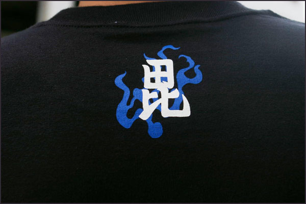 戦国武将長袖Tシャツ【越後の虎・上杉謙信】