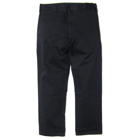 SMOKEYWOOD コットンカラー9分パンツ BLACK