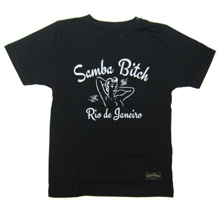 NOSSO SENHOR DO PARAISO RDJ Samba Bitch TEE BLACK