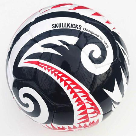 スカルキックス,skullkicks,ボール,タトゥー,tatoo,コラボ,YAS