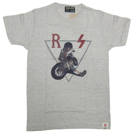REALIZE×SMOKEYWOOD TEE OATMEAL