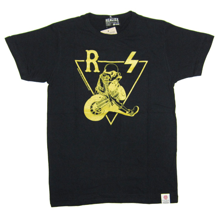 REALIZE×SMOKEYWOOD TEE BLACK