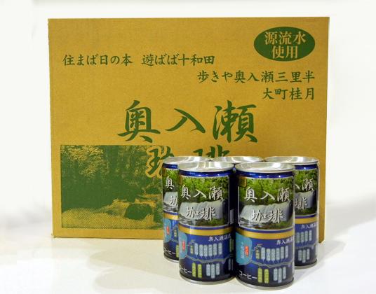 奥入瀬珈琲 缶コーヒー190g×30本