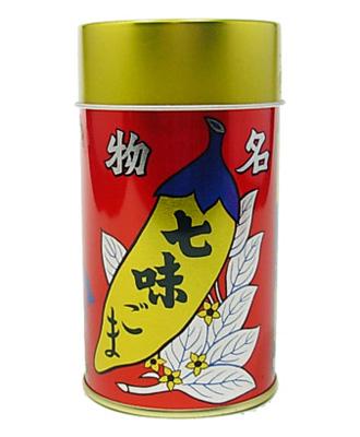 八幡屋礒五郎 七味ごま(缶)
