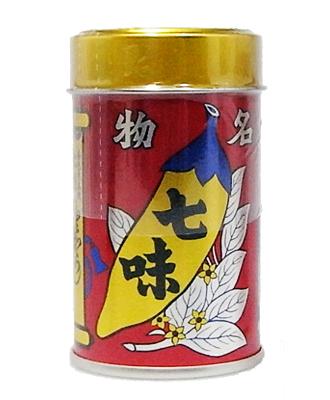八幡屋礒五郎 七味唐からし(缶)