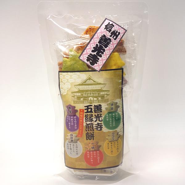 善光寺五縁煎餅
