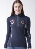 Jump USA キャプテン フィットジップTシャツ