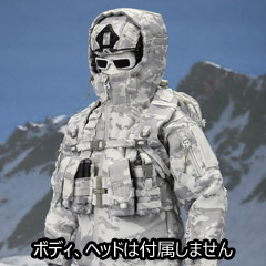 【EASY&SIMPLE】06026 Special Forces Snow Field Operation Gear Set スノーフィールド・ギア&ウェポンセット
