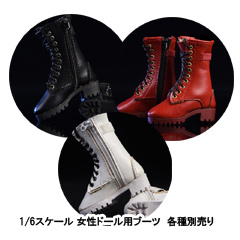 【VICKY SECRET toys】VStoys 19XG43 Zipper boots hollow leather boots ブーツ 1/6スケール女性用シューズ