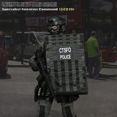 【EASY&SIMPLE】26017S British Specialist Firearms Command SCO19 Shieldman ロンドン警視庁特殊部隊 1/6フィギュア