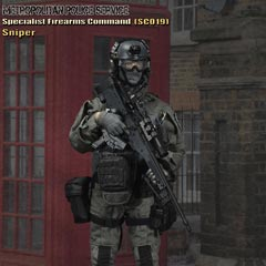 【EASY&SIMPLE】26024 British Specialist Firearms Command SCO19 Sniper ロンドン警視庁特殊部隊 1/6フィギュア