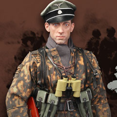 【DID】D80118 WW2 12th SS-Panzer Division Hitlerjugend Rainer 第12SS装甲師団 ヒトラーユーゲント ライナー