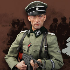 【DID】D80118S WW2 12th SS-Panzer Division Hitlerjugend Rainer 第12SS装甲師団 ヒトラーユーゲント ライナー 負傷版