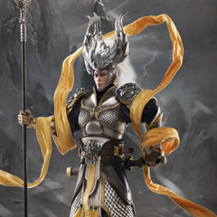 【VeryCool】DZS-004 THE 4TH IMPACT OF 1/6 ASURA SERIES - EXILED GOD 神将捍天 1/6スケール 男性フィギュア
