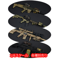 【EASY&SIMPLE】06022 Elite Combat Unit Gear Set 1/6スケール ライフル