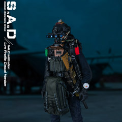 【EASY&SIMPLE】26038S S.A.D Special Operation Group Casual Version HALO Infiltration 1/6スケールミリタリーフィギュア