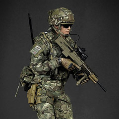 【GreenWolfGear】GWG-009 BRITISH ARMY (OP TORAL) AFGHANISTAN KABUL SECURITY FORCE (KSF) イギリス陸軍 1/6スケールフィギュア