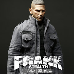 【ONESIX-VERSE TOYS】OS01 1:6 FRANK STEALTH SETS 1/6スケール 男性ヘッド&コスチュームセット