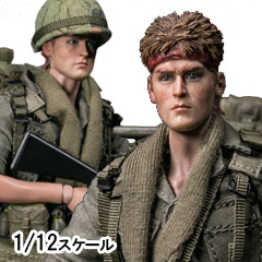 【DAM】PES004 1/12 ARMY 25th Infantry Division Private ベトナム戦争 アメリカ陸軍 第25歩兵師団 二等兵 1/12スケールフィギュア
